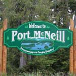 Welcome to Port McNeill, BC - Gatewqy to the Broughton Archipeligo